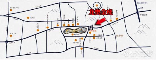 地图搜索)  位于经十路与奥体东路交汇处的东南角